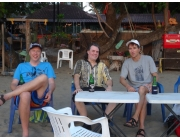 Marco Neills and Peter At Roo Bar bali